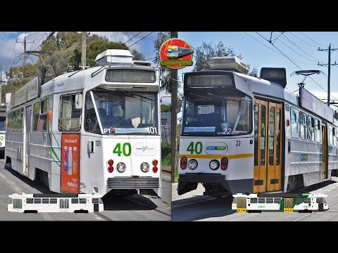 Ruby Jubilee Tour - 40 years of the Z Class Overview - Yarra Trams