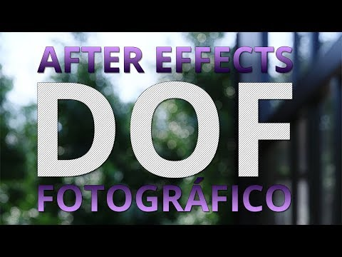 DOF En After Effects Con Lenscare