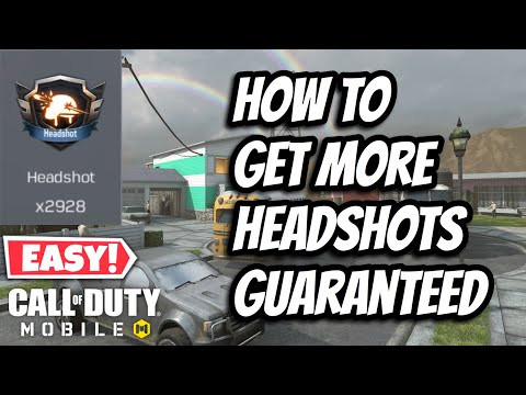 How To Get More Head shots In Call of Duty Mobile Guaranteed | Tips & Tricks | Call of Duty Mobile