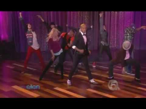 This is it dancers michael jackson live on ellen show 10 29 2009 youtube - Ellen show live ...