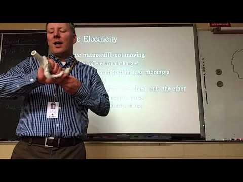 Static Electricity Lecture, Lab 5A discussion