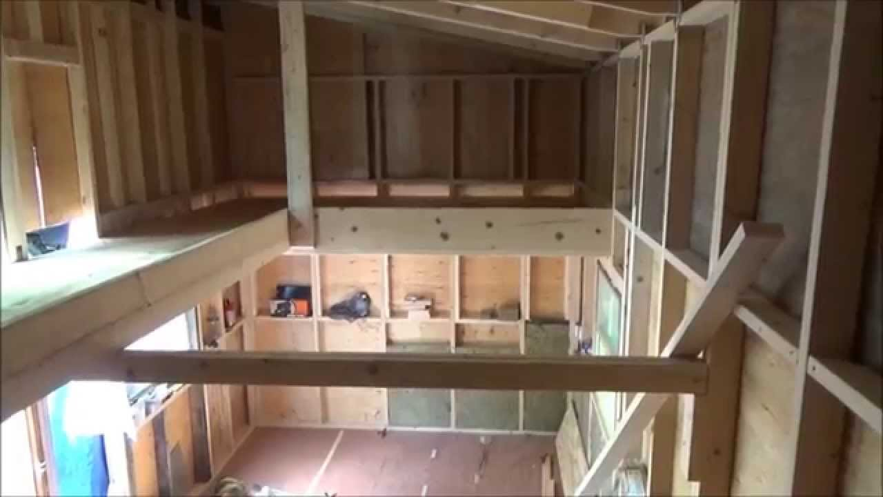 Finishing My Tiny House Loft S2   YouTube