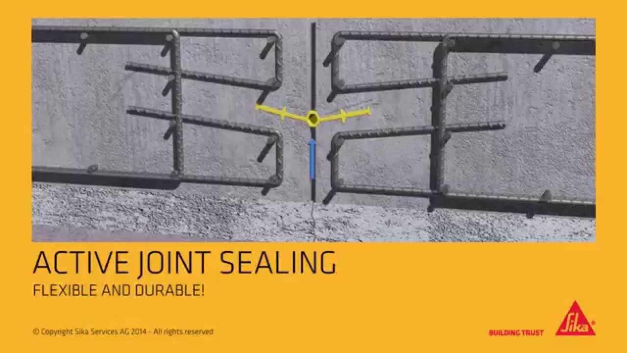 Sika 174 Waterbar Waterstops For Joint Sealing English