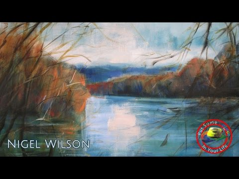 Fine art tips on How to Paint Landscapes in Oils with Nigel Wilson on Colour In Your Life