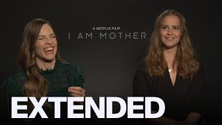Hilary Swank, Clara Rugaard Talk 'I Am Mother' | EXTENDED