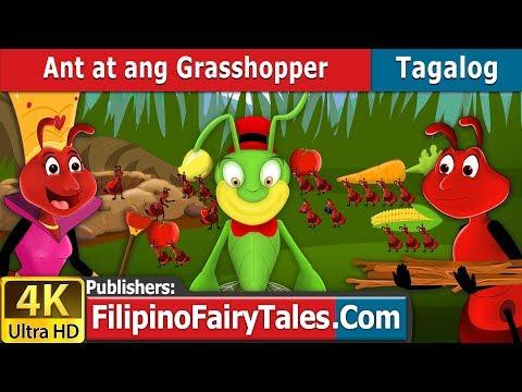 Ant at ang Grasshopper | Kwentong Pambata | Mga Kwentong Pambata | Filipino Fairy Tales