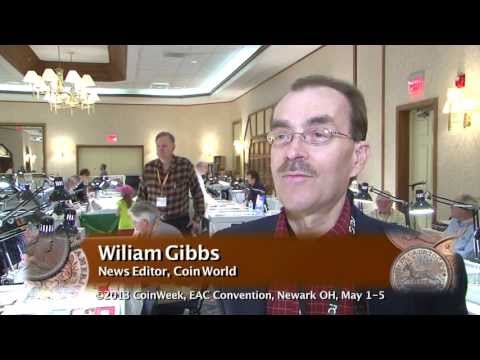 Numismatic Personality: William Gibbs, News Editor, Coin World. May 4, 2013. VIDEO: 7:41.