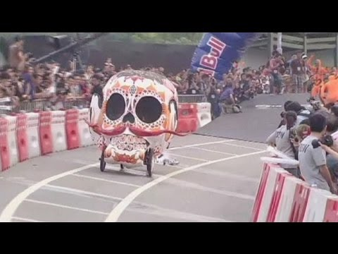 Soapbox race held in Hong Kong - no comment