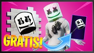 MARSHMELLO *FREE* ALL THIS!!! | FORTNITE HOLIDAY PARK EVENT
