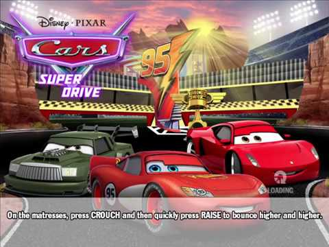 Cars Mater National, Super Drive - 2x 12 Lapped Events