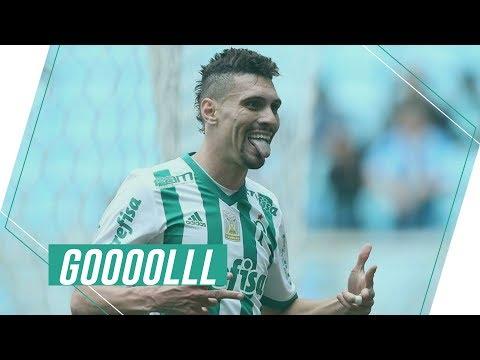 Gols - Grêmio 1 x 3 Palmeiras - Brasileirão 2017