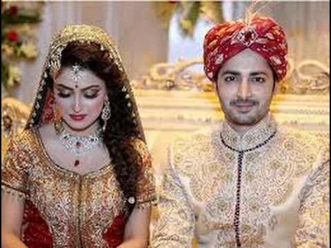 Ayeza Khan Danish Taimoor Barat Video
