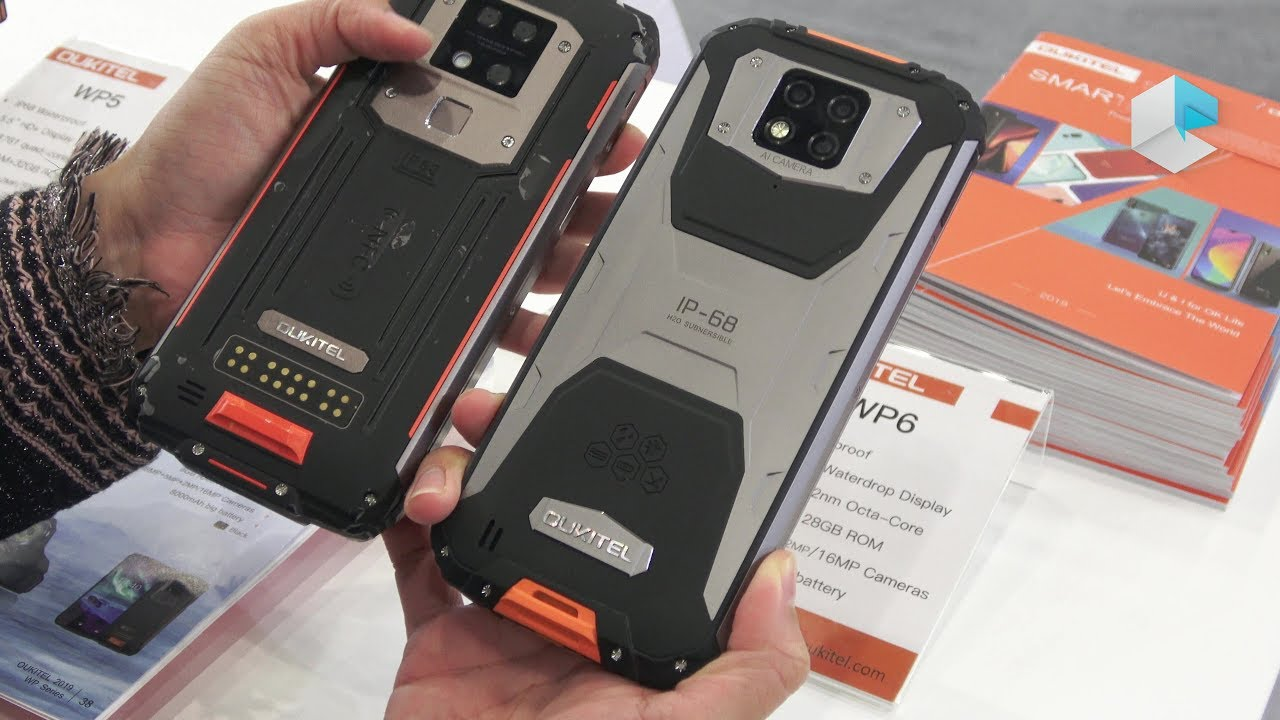 Oukitel WP7, WP6, WP5, WP3 new rugged smartphones lineup includes ...