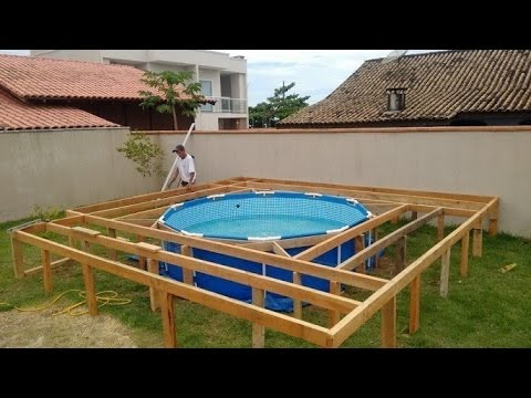 Como hacer una alberca economica youtube for Construir piscina economica