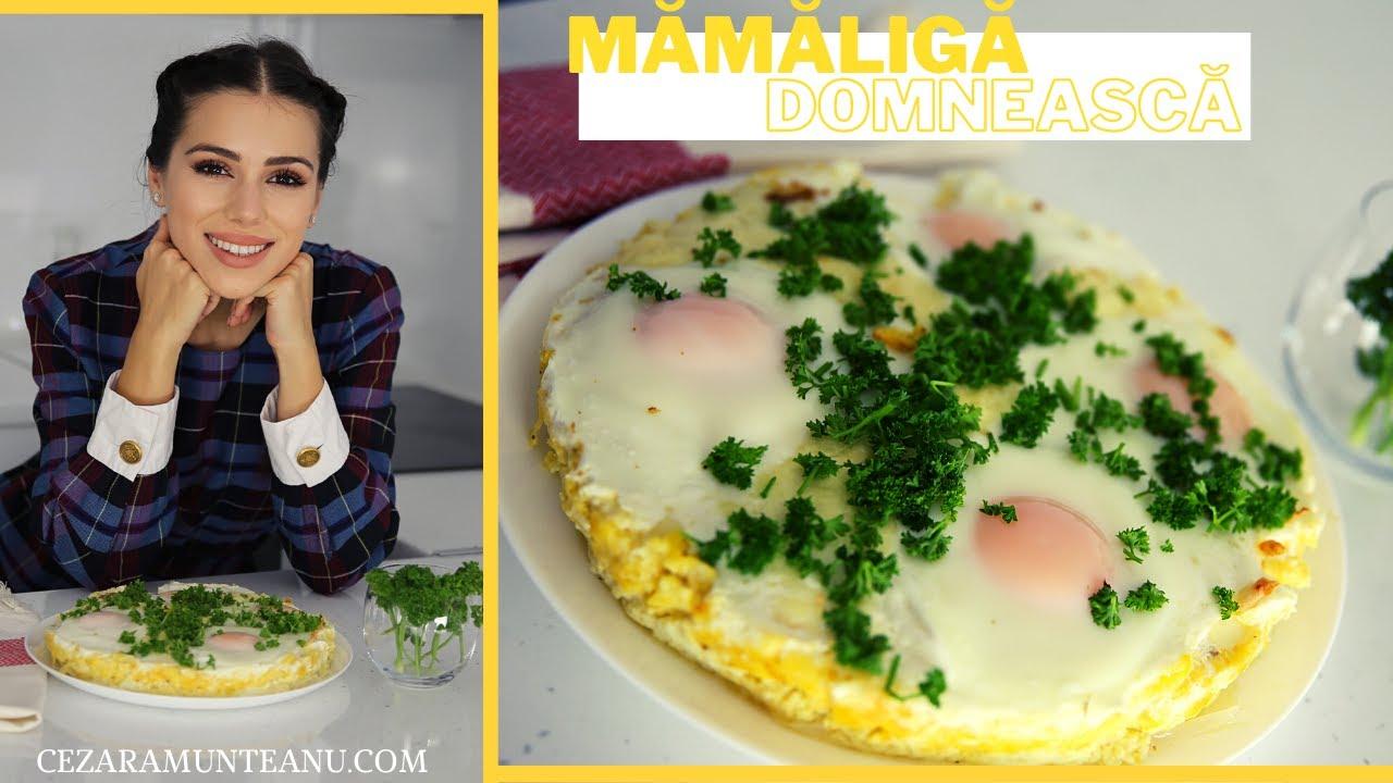Mamaliga domneasca/ Taci si-nghite/Mamaliga in straturi cu branza si cascaval (reteta traditionala)