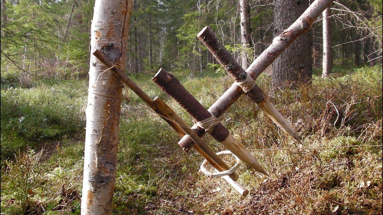 Primitive Survival Trap The Feather Spear Trap