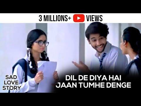 Dil De Diya Hai Jaan Tumhe Denge - Video Song | Unplugged Cover By Rahul Jain | Sad Love Story