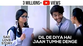Dil De Diya Hai Jaan Tumhe Denge - Video Song | Unplugged Cover By Rahul Jain | Sad Love Story