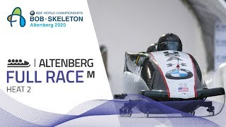 Altenberg | BMW IBSF World Championships 2020 - 4-Man Bobsleigh Heat 2 | IBSF Official