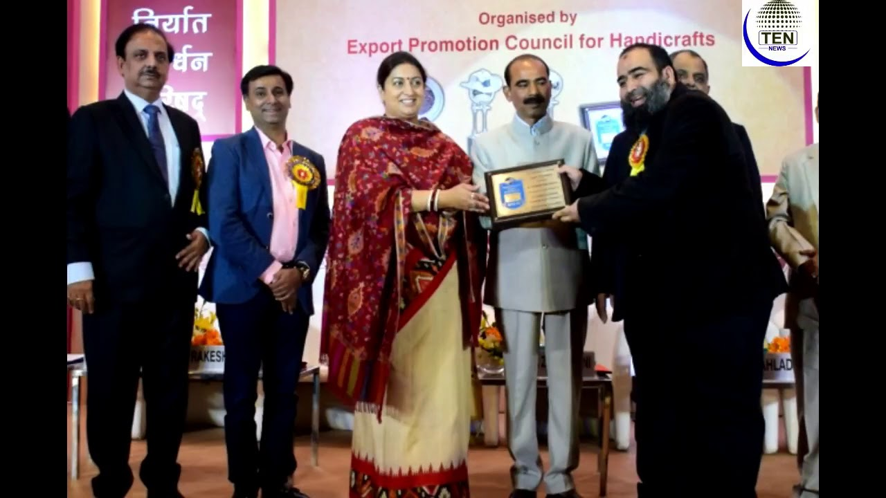 Epch Highlights Of 22nd Handicrafts Export Awards Ceremony