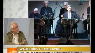 Gambar cover Vivo en Argentina - Walter Ríos y Daniel Binelli - 18-09-12