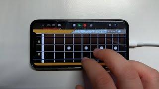 Bella Ciao Remix on iPhone (GarageBand)