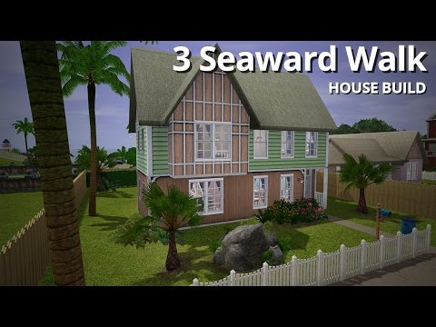 The Sims 3 House Building - 3 Seaward Walk - Aluna Island