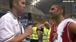 Rony FAHED post game interview