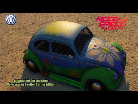 Need for Speed Payback - Abandoned Car Location: Volkswagen Beetle - Spring Edition