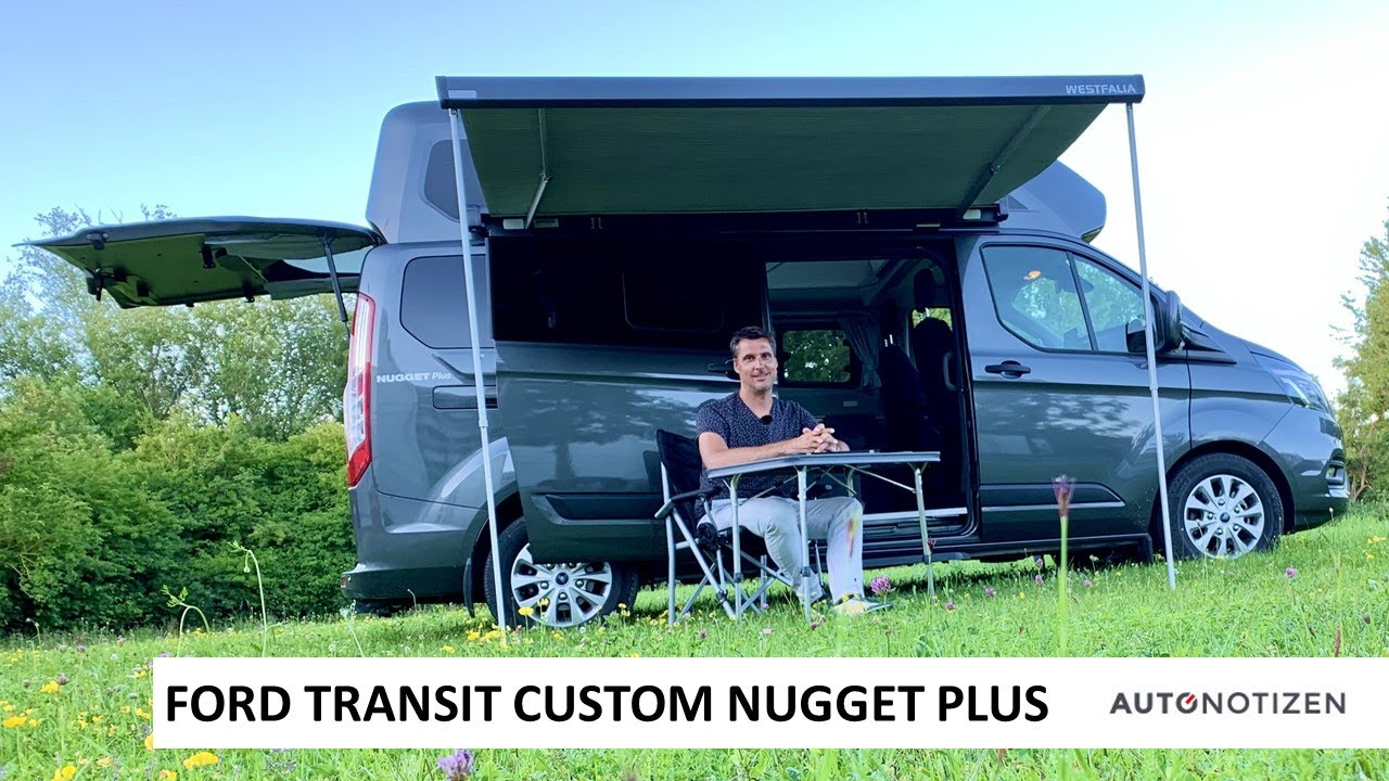 Ford Transit Custom Nugget Plus Wohnmobil Im Test Review Mit