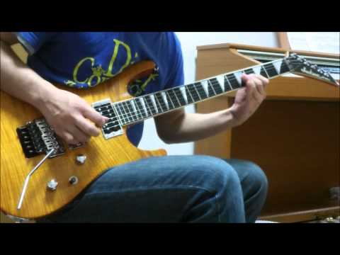 Vinnie Moore - Hero Without Honor(2:40~3:39) cover