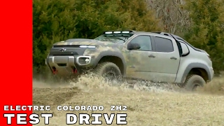 Electric Chevy Colorado ZH2 Fuel Cell Off Road Test Drive