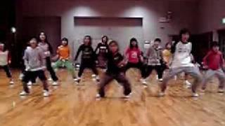 福島県会津若松市のダンススタジオRip☆Solidのキッズレッスン風景!