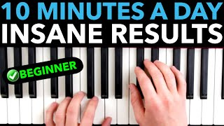 The PERFECT Piano Practice Morning Routine (For Beginners)