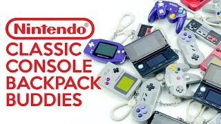 Nintendo Classic Console Backpack Buddies Unboxing | Paladone