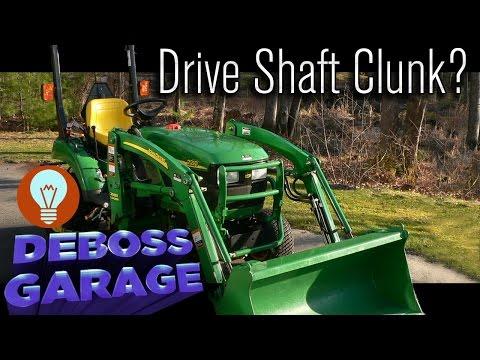 How To Fix A John Deere 2210 Drive Shaft