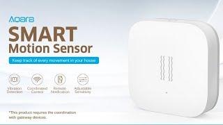 Best Smart Motion Sensor in 2018 -  Aqara Smart Motion Sensor