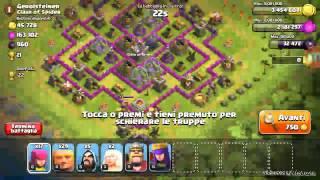 Clash of clans-ATTACCO DA SCHIFO