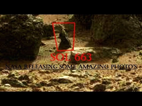 NASA RELEASING SOME AMAZING PHOTO'S - SOL 663 TruthSeeker's Mars Anomaly Research