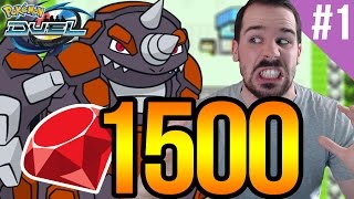 I NEED RHYPERIOR! 1500 Gem Booster Box Openings [PART 1] | POKEMON DUEL