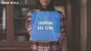 HOW TO CRAFT SAFETY #4 Plastic bag sling