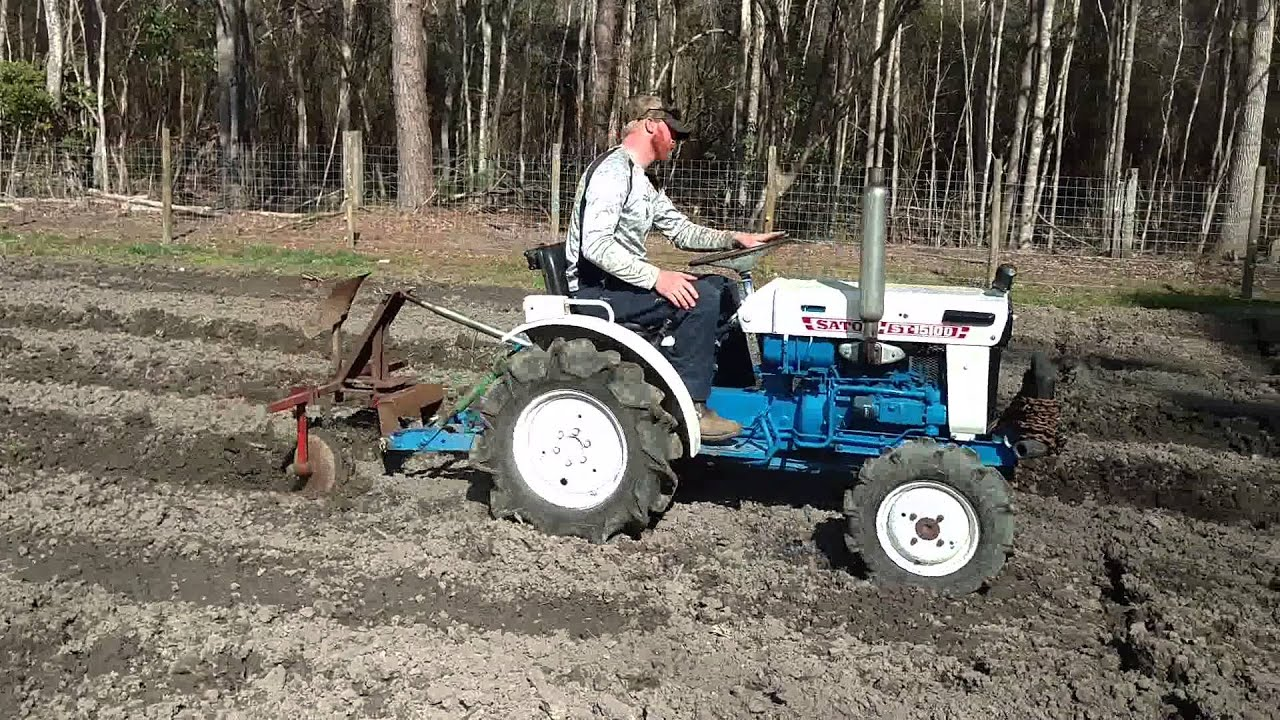 Ls Tractor Seat Replacements : Satoh compact tractor