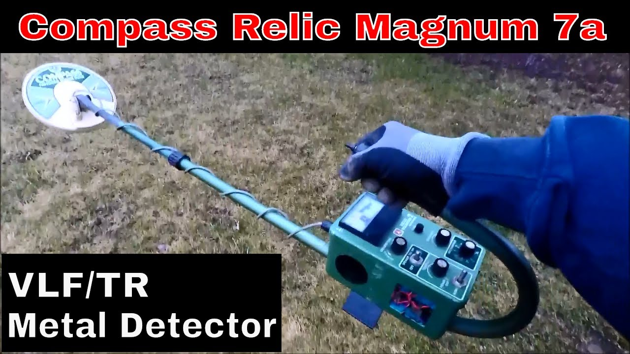 Old School VLF/TR Metal Detector/Comp Relic Magnum 7a on