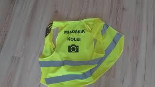 """Moja kamizelka odblaskowa """"Miłośnik Kolei """""""