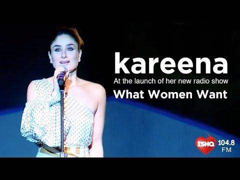#WhatWomenWant with Kareena Kapoor Khan - Ishq 104.8 FM