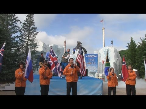 Full grand opening ceremony for Antarctica: Empire of the Penguin at SeaWorld Orlando