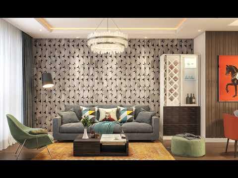 Wallpaper Designs For Living Room, Modern Wallpaper Designs For Living Room