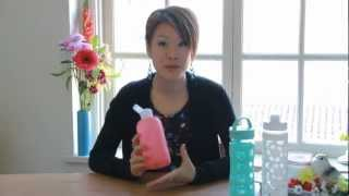 Glass Water Bottle Reviews - Gina♥Heart