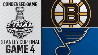 06/03/19 Cup Final, Gm4: Bruins @ Blues