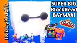 Big PLAY-DOH Baymax Surprise Box by HobbyKidsTV